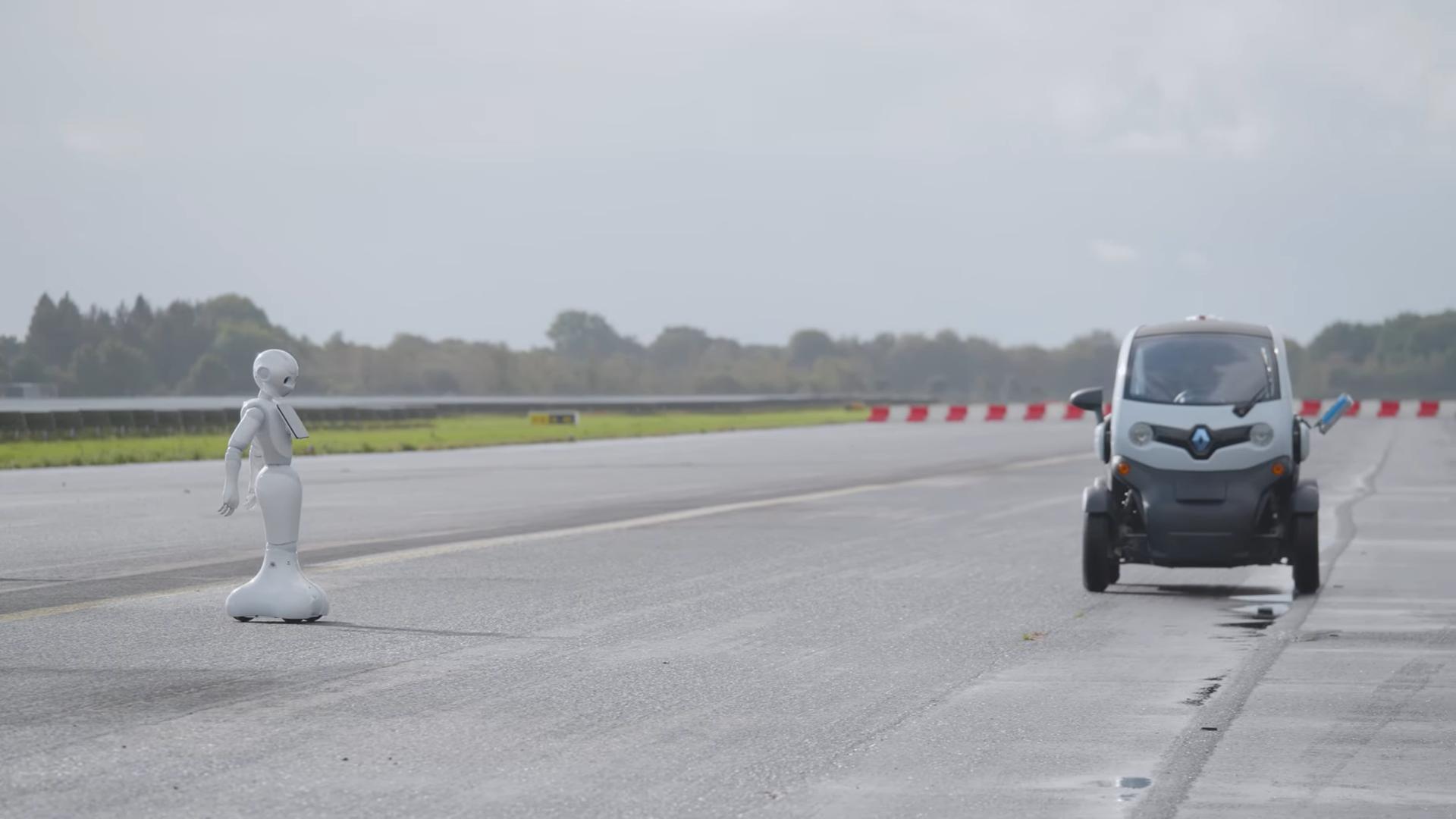 Autonomous vehicle and robot