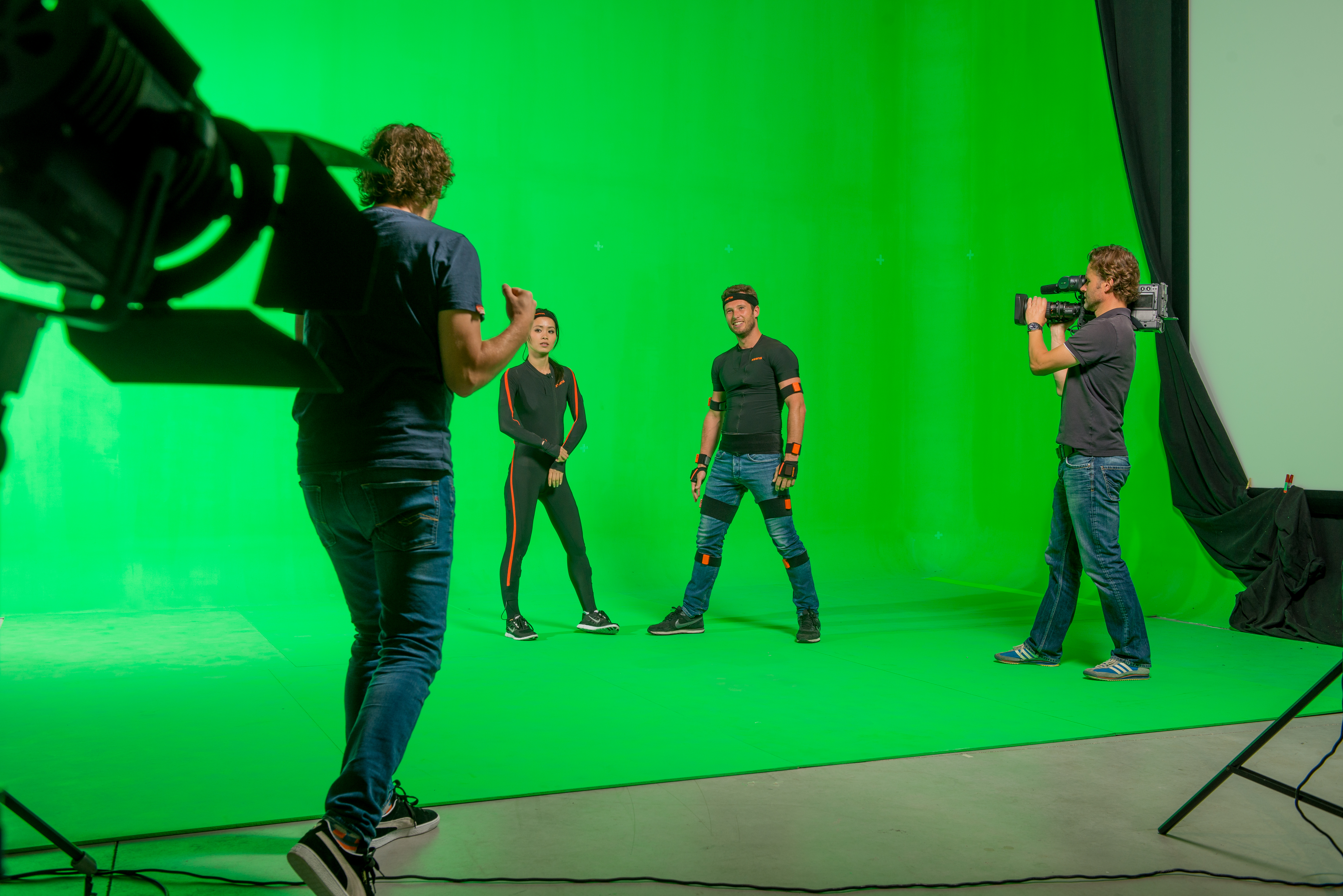 Motion Capture for Animation and VFX