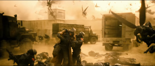 Batman vs. Superman nightmare