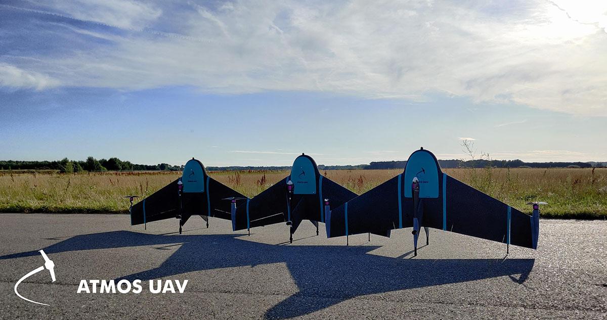 ATMOS VTOL Marlyn PPK drones