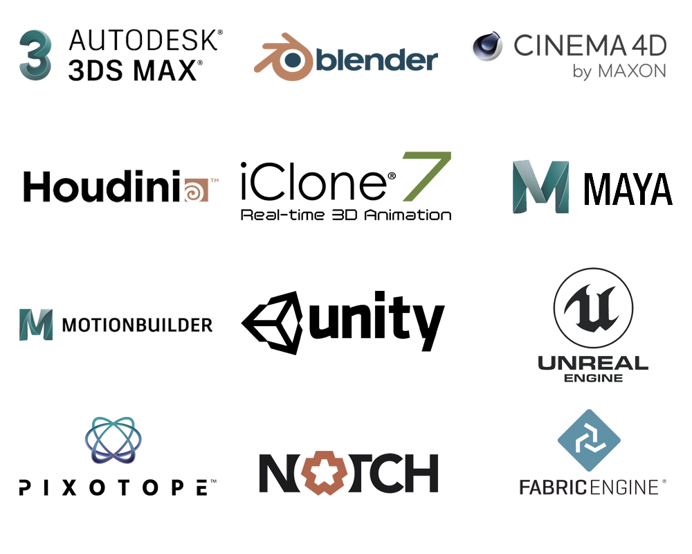 Xsens MVN Animate integrations